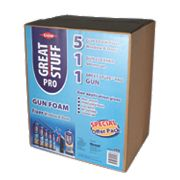 Dow Great Stuff Pro Gun Foam Window & Door Fixer Kit 750ml