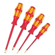 Wera VDE 1000V Screwdriver Set 4Pcs