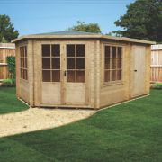 Rowney Log Cabin 4.3 x 2..9 x 2.8m