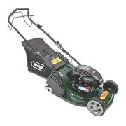 Webb WERR17 43cm 140cc Self-Propelled Rotary 3-in-1 Petrol Lawn Mower