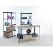 Workshop Workbench & 2-Bay Shelving Starter Kit x x mm