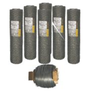Tornado Premium Hex Net Rabbit Netting Bundle 300m