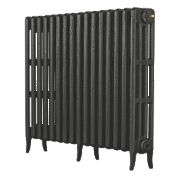 Arroll Neo Classic 4-Column Cast Iron Radiator Pewter 760 x 874mm