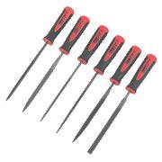 Forge Steel 150mm Needle File Set 6Pcs