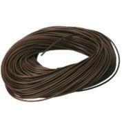 PVC Sleeving 3mm x 100m Brown