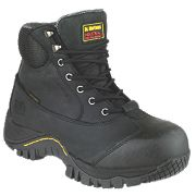 Dr Marten Heath Safety Boots Black Size 9
