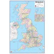 Dry-Wipe UK Map 910 x 610mm