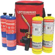 Rothenberger Mixed Hot Bag Torch Kit