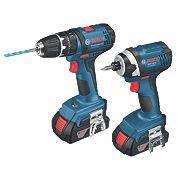 Bosch 06019D2370 18V 1.5Ah Li-Ion Combi Drill & Impact Driver Brushless