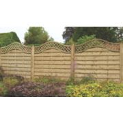 Forest Prague Fence Panels 1.8 x 1.8m Pack of 3