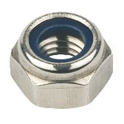 Nylon Lock Nuts A4 Stainless Steel M8 Pack of 100