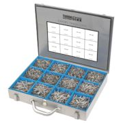 Turbo Silver Expert Trade Case Double-Self-Countersunk Pack of 2800