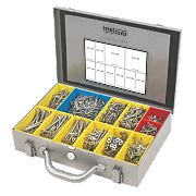 Turbo Silver General Trade Case Double Self-Countersunk Pack of 1400