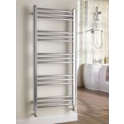 Kudox Timeless Designer Towel Radiator Chrome 1100 x 500mm 267W 911Btu