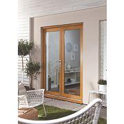 Jeld-Wen Oakfold French Door Set Oak Veneer 1790 x 2090mm