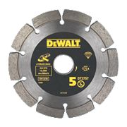 DeWalt DT3757-QZ Mortar Rake Diamond Blade 125 x 6 x 22.2mm