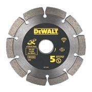 DeWalt DT3757-QZ Mortar Rake Diamond Blade 125 x 6 x 22.2mm