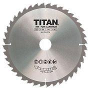 Titan TCT Circular Saw Blade 40T 210 x 16/25/30mm