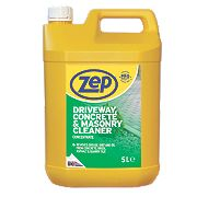 Zep Commercial Driveway, Concrete & Masonry Cleaner Concentrate 5Ltr