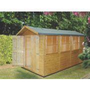 Shire 7' x 13' (Nominal) Apex Shiplap Shed