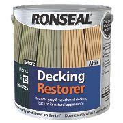 Ronseal Decking Restorer Clear 2.5Ltr