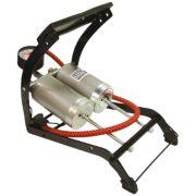Double-Barrel Foot Pump