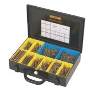 Goldscrew Plus Woodscrews General Trade Case Double Self-Countersunk Pk1400