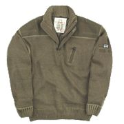MASCOT NAXOS KNITTED SWEATER LIGHT OLIVE LARGE