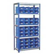 Barton Ecorax Shelving Blue 900 x 450 x 1800mm