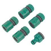 "Hose Connector Set ½"" 5 Pieces"