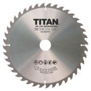 Titan TCT Circular Saw Blade 40T 230 x 20/25/30mm