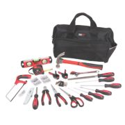 Forge Steel General Hand Tool Kit 55 Piece Set