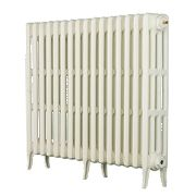 Arroll Neo Classic 4-Column Cast Iron Radiator White 760 x 1080mm