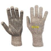 Stanley Wool Winter Dot Gripper Gloves Grey Large