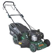 Webb WER18HW 46cm 140cc Self-Propelled Rotary 46cm High Wheel 4-in-1 Lawn Mower