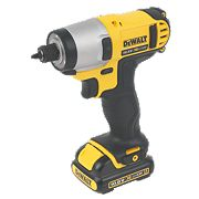 DeWalt DCZ211S2T 10.8V 1.5Ah Li-Ion Drill Driver & Impact Driver XR