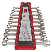 Teng Tools Metric Combination Spanner Set 10 Pieces