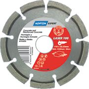 Norton Expert Laser Diamond Blade 115 x 22.23mm
