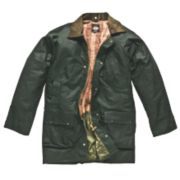 Dickies Westfield Waxed Jacket Bottle Green Medium 40-42