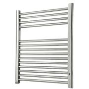 Flomasta Flat Towel Radiator Chrome 700 x 600mm 242W 825Btu