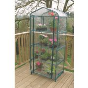 Apollo 4-Tier Mini Greenhouse 690 x 490 x 1600mm 2' 3 x 1' 6 x