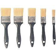 Economy Paintbrushes 5 Piece Set