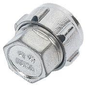 Conex Chrome Compression Stop End 15mm