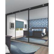 3 Door Wardrobe Doors Mirror 2660 x 2330mm
