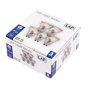 LAP GU10 LED Lamp 300Lm 380Cd 5W Pack of 5