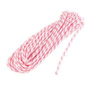 Braided Polyester Rope Pink & White 5mm x 15.2m