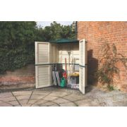 Rowlinson Garden Products Plastic Tall Store 4' 9 x 2' 6 x 1.98m (Nominal)