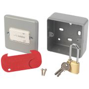 MK 3-Pole Lockable Fan Isolator Switch Metal-Clad