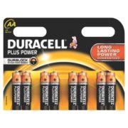 Duracell Alkaline AA Batteries Pack of 8
