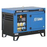 SDMO 10000ES 9000W Diesel Generator 230V/110V